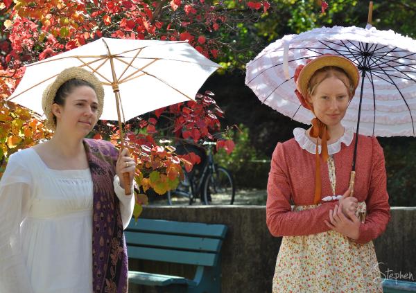Period fashions at the Jane Austen Festival