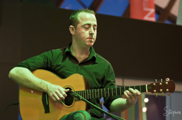 Anthony Byrne of The Alan Kelly Quartet