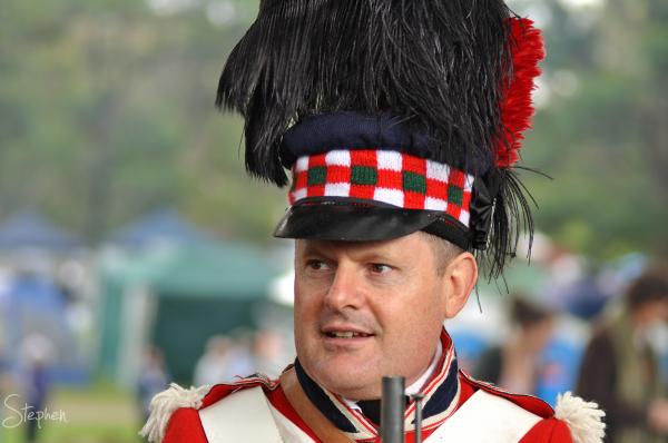Black Brigade at the Bundanoon Highland Festival