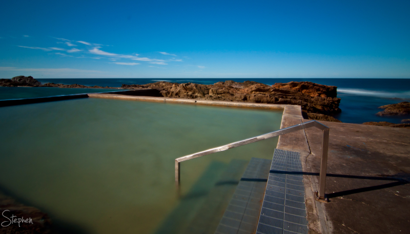The Blue Pool at Bermagui
