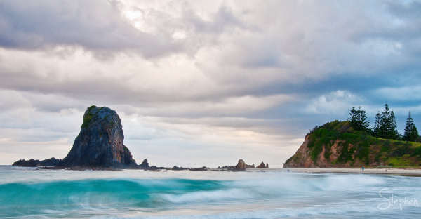 Glasshouse rocks near Narooma