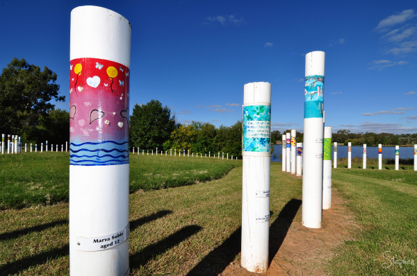 SIEV X Memorial at Weston Park Lake Burley Griffin