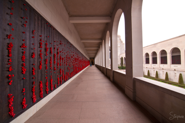 Wall of Remembrance, Australian War Memorial