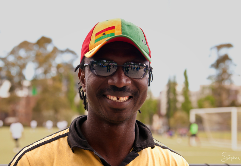 African communities football challenge in Canberra