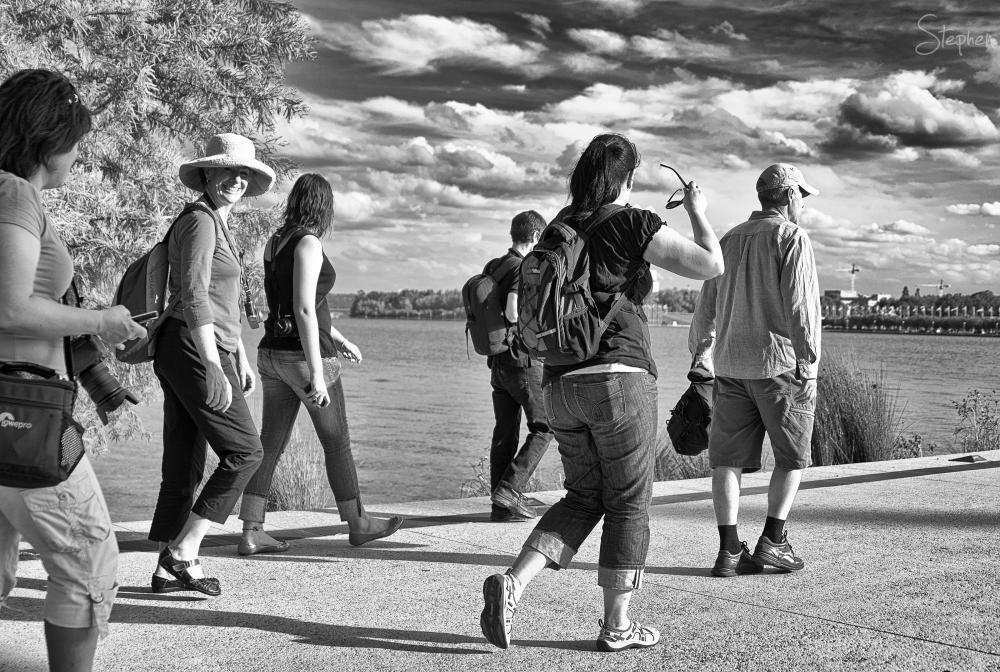 Photowalk Canberra - Spring walk around the Lake
