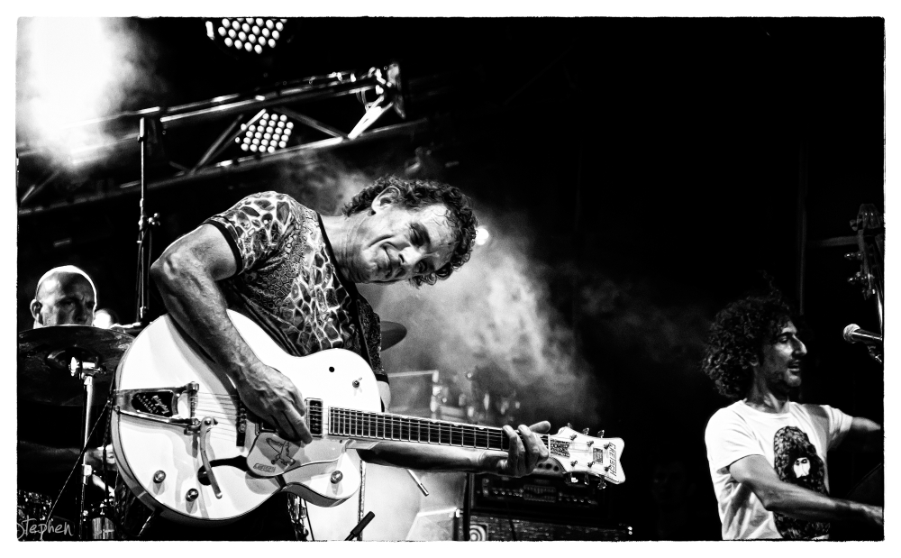 Ian Moss in Canberra on New Year's Eve 2011