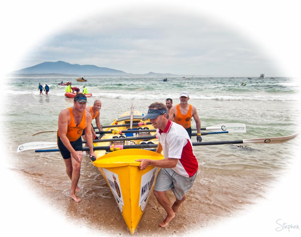 2012 George Bass Surfboat Marathon at Narooma