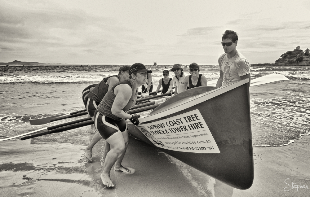 2012 George Bass Surfboat Marathon at Narooma