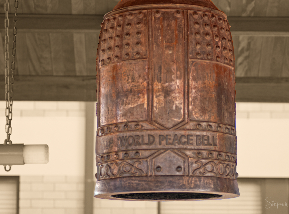 World Peace Bell at Cowra