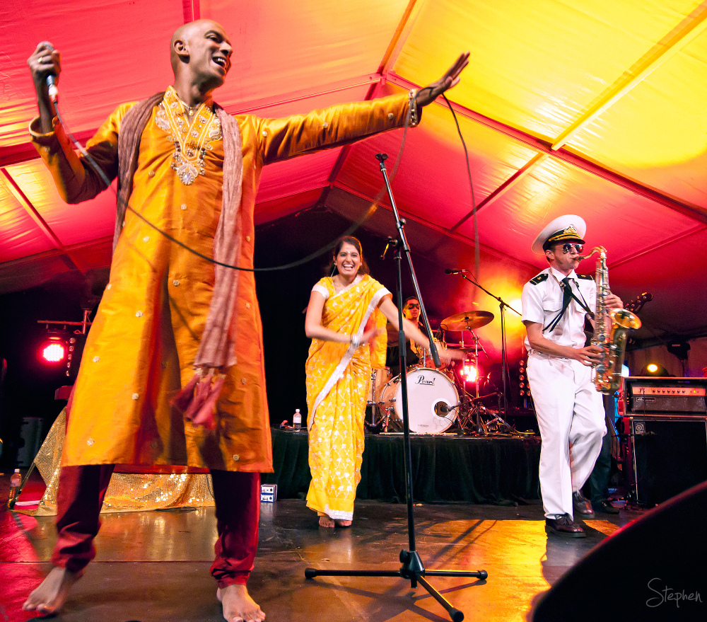 Bombay Royale at Canberra Multicultural Festival