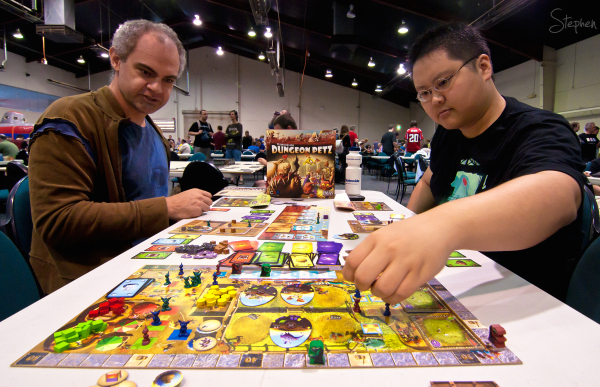 Cancon war games and board games convention