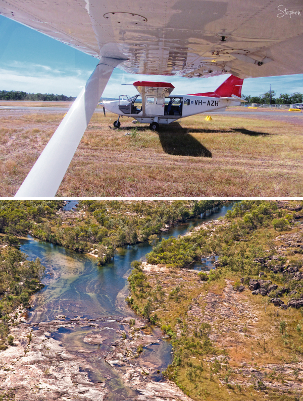 Scenic flight over Kakadu National Park