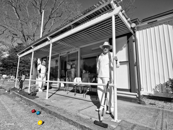 Clubhouse at the Canberra Croquet Club