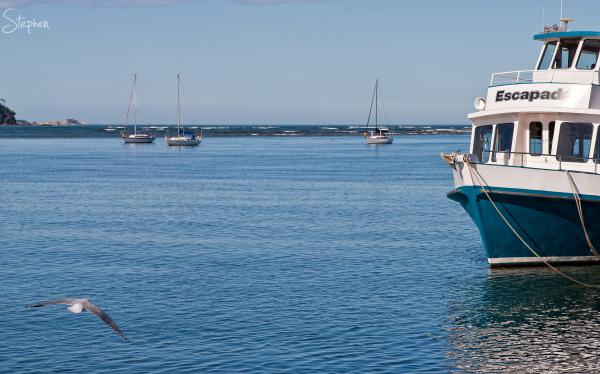 View from the esplanade at Batemans Bay