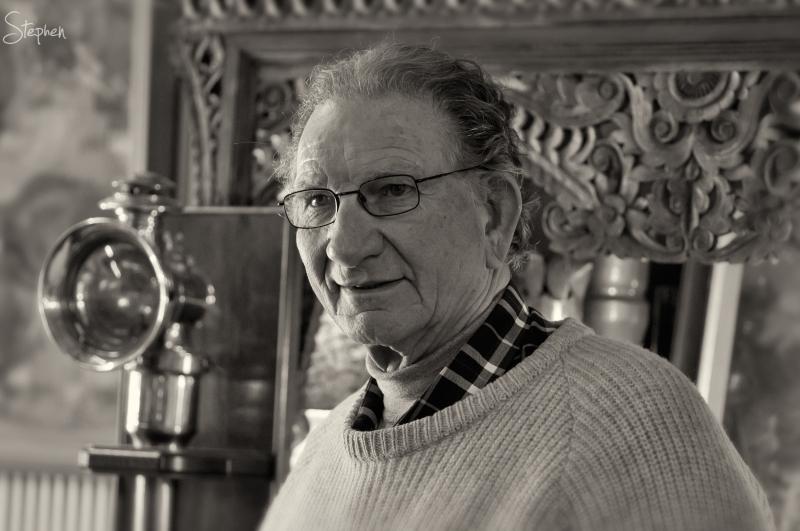Robert Aernout of The Original Lamp Shop Braidwood