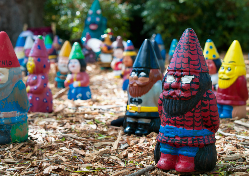 Gnome Knoll at Floriade