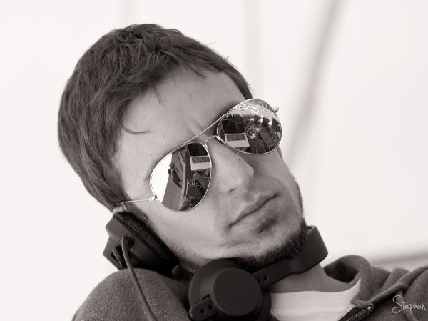 DJ Oops from Brazil's DJ crew Sistema Criolina