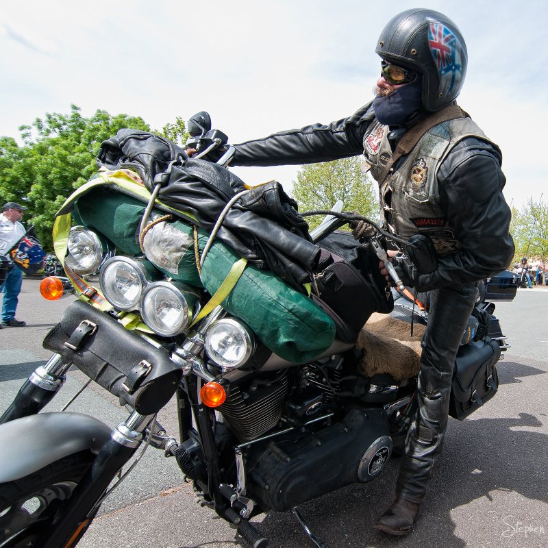 Harley Owners Group Thunder on the Hill Canberra