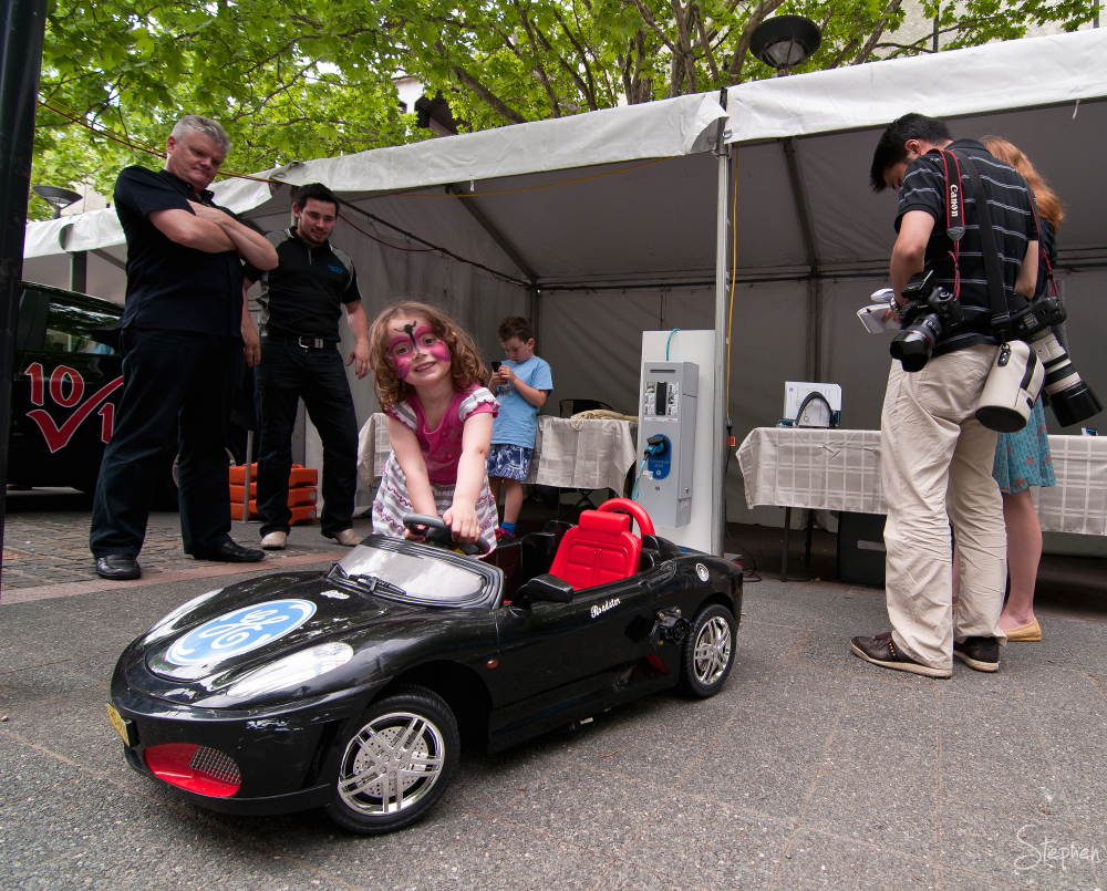 Fun at Canberra Electric Vehicle Festival