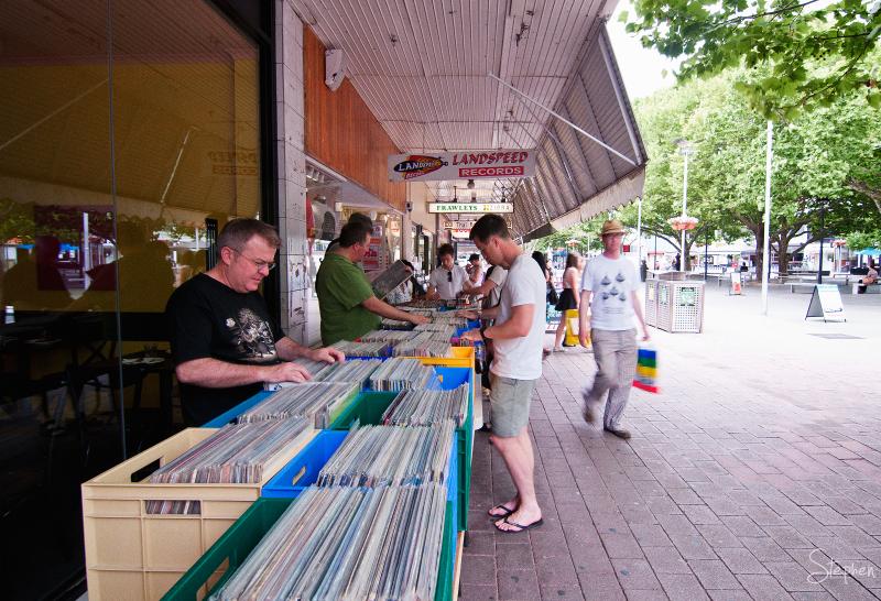 LP record vinyl revival at Landspeed Records