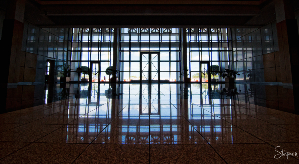 Main Reception Hall at Parliament House in Darwin