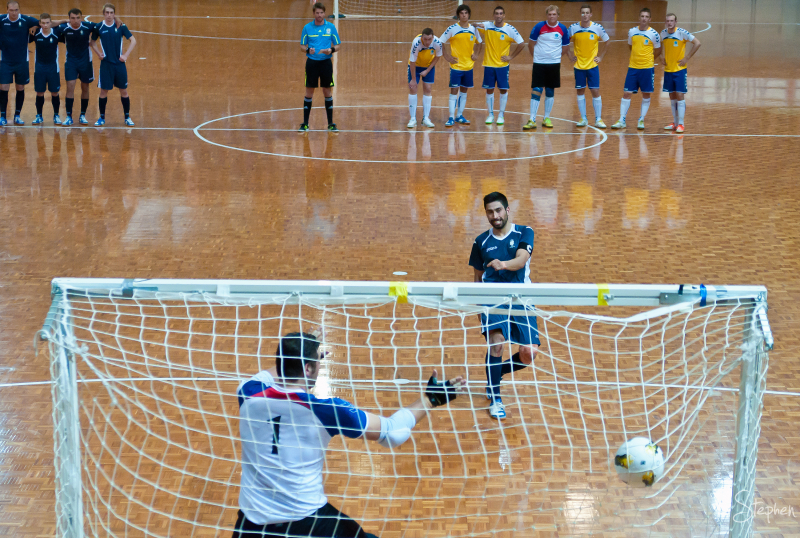 Shoot out in National Futsal Championship final