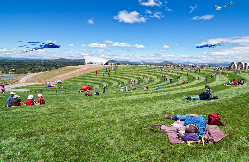 Opening festival - National Arboretum Canberra