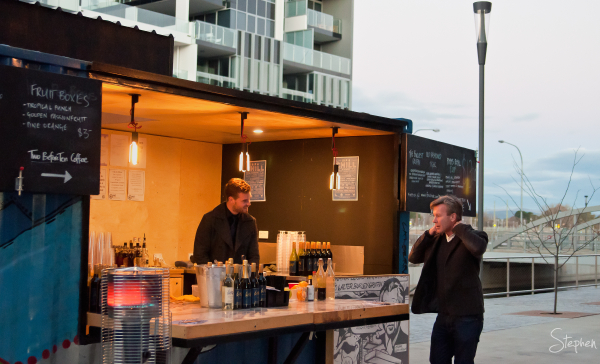 Canberra Lab's pop up bar on Kingston Foreshore
