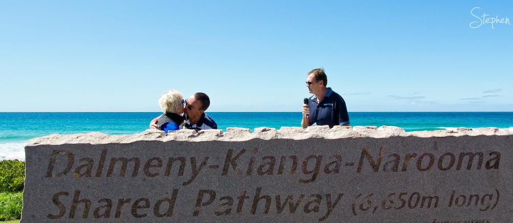 Opening of Dalmeny-Kianga_Narooma shared pathway