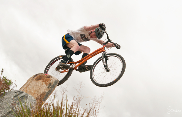 Mountain bike championships at Mount Stromlo