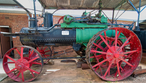 Buffalo Pitts steam tractor engine