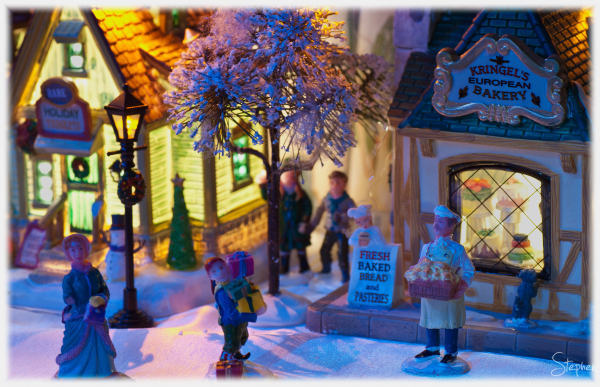 Christmas Village miniatures