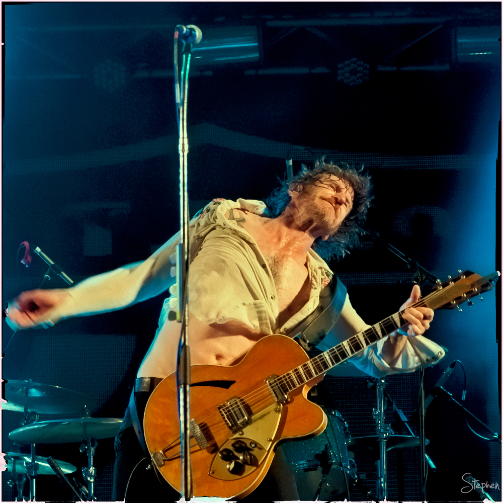 Tim Rogers of You Am I on New Year's Eve