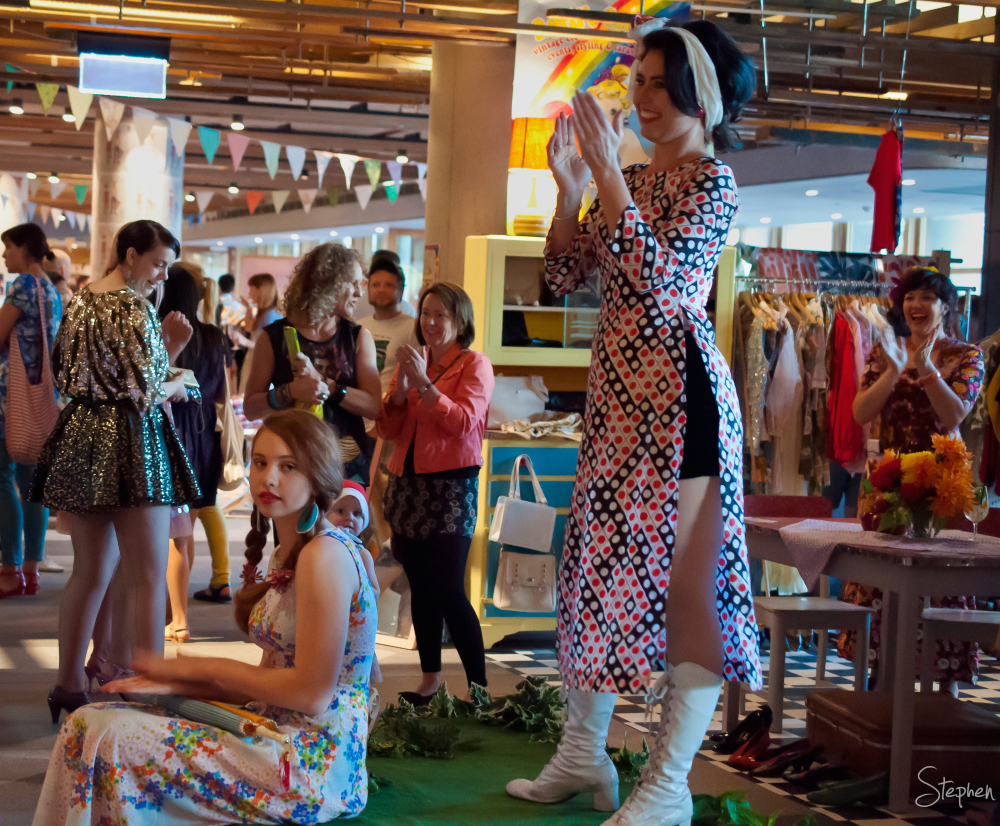 Hustle&Scout fashion market at Nishi New Acton