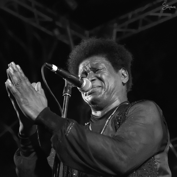 Charles Bradley live at the Enlighten festival