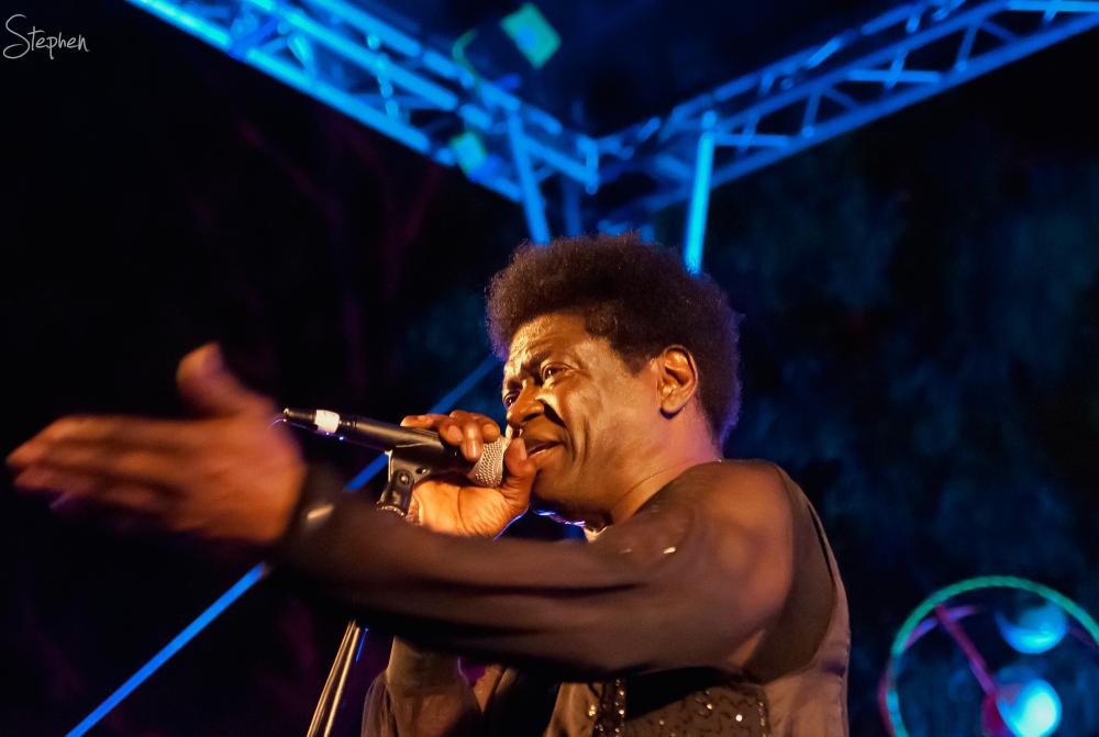 Charles Bradley live at the Enlighten festival