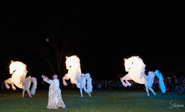 Fiers a Cheval perform at Enlighten festival