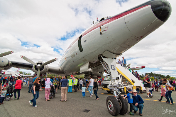 Lockhead Constellation - Canberra Airport Open Day