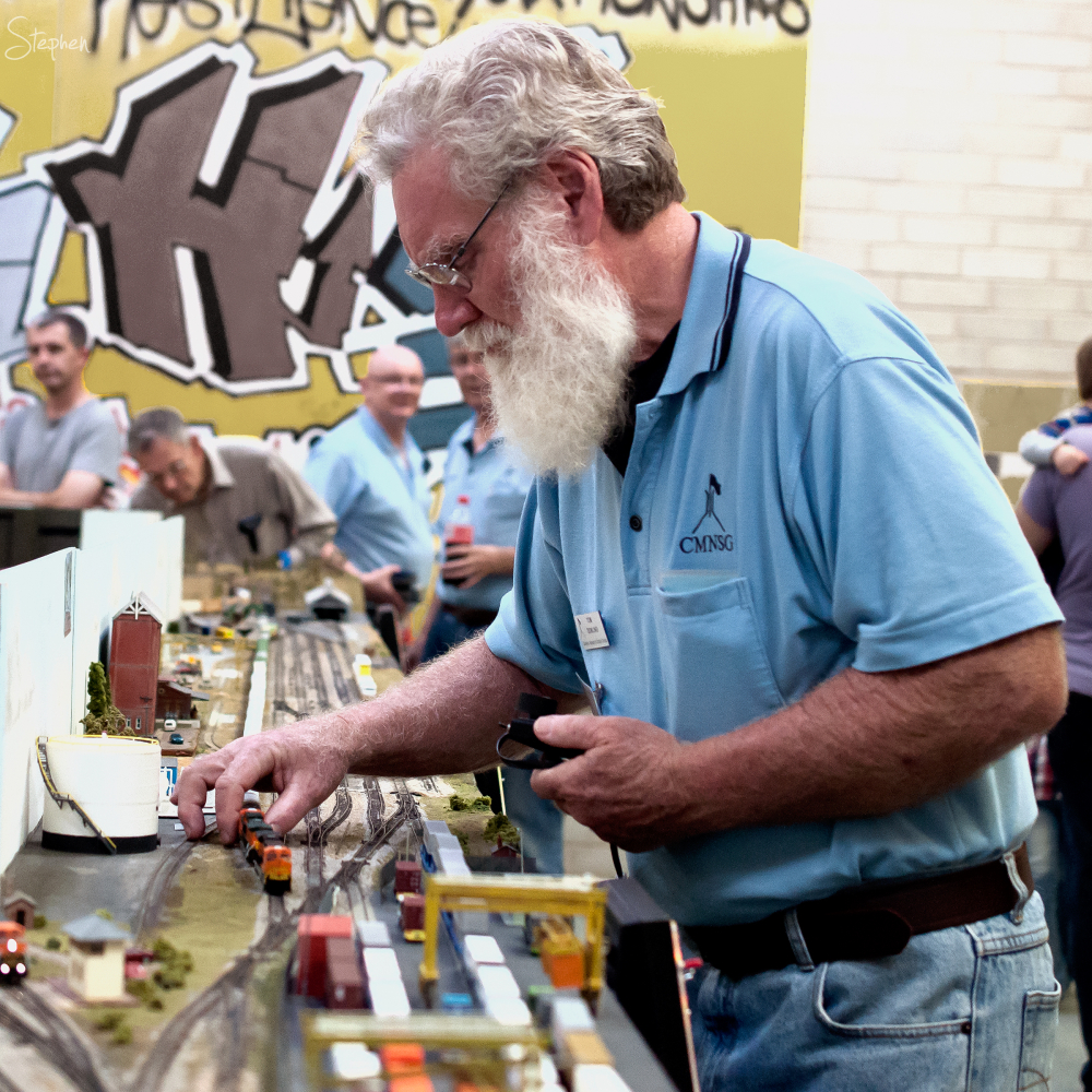 Canberra Model Railway Expo.