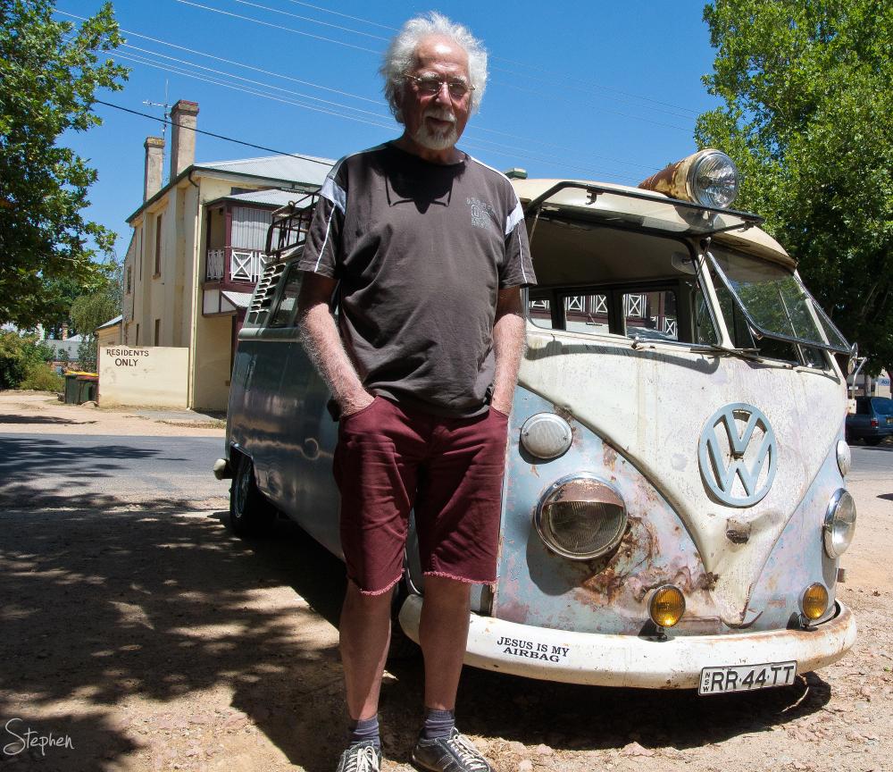 1967 Kombi van in the town of Braidwood
