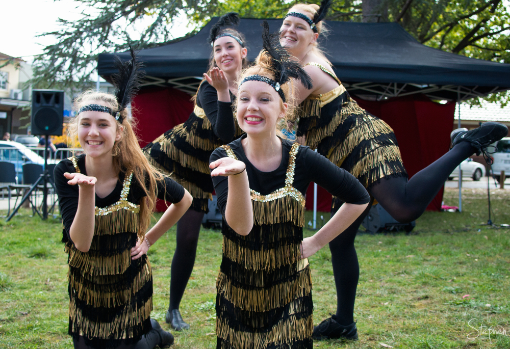 Merici Dancers at Ainslie Party at the Shops