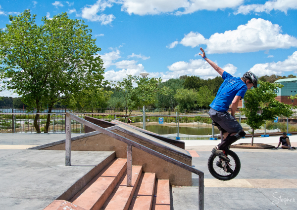 Asia Pacific Unicycle Championships in Canberra