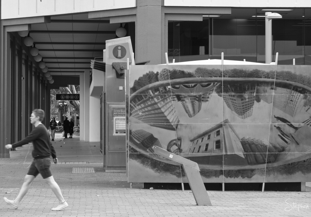 Canberra City bus station
