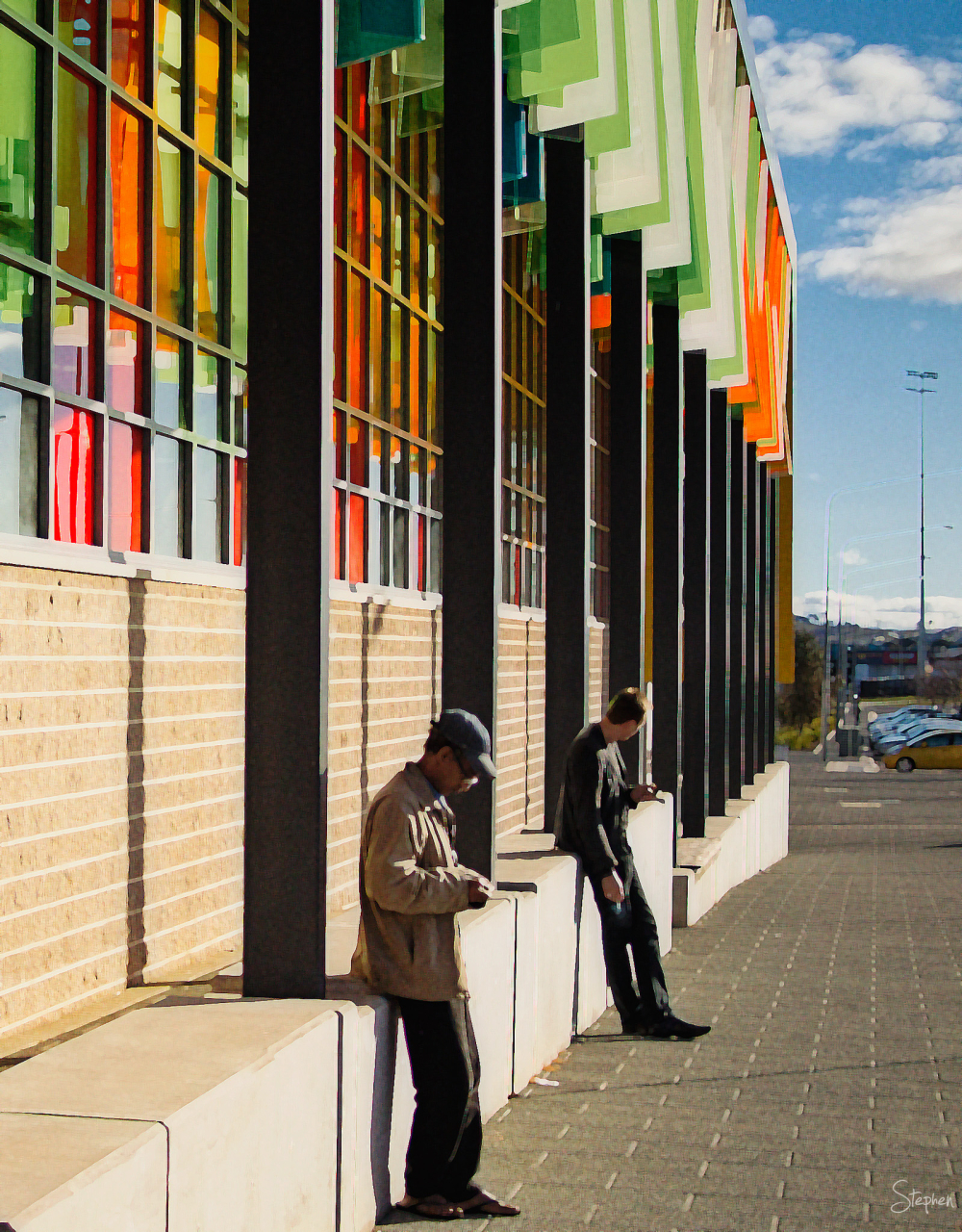 Street view of the Gungahlin Library