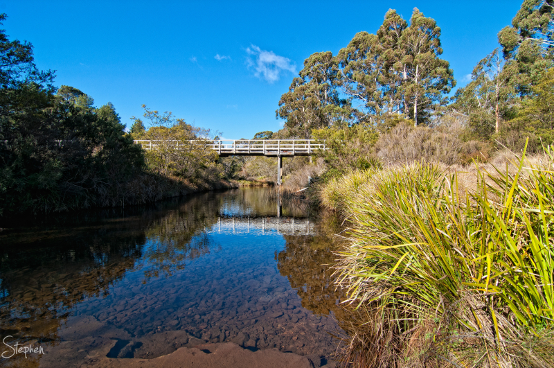Charleyong Bridge over Mongarlowe River