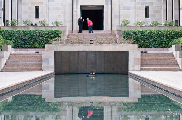 Pool of Remembrance at Australian War Memorial