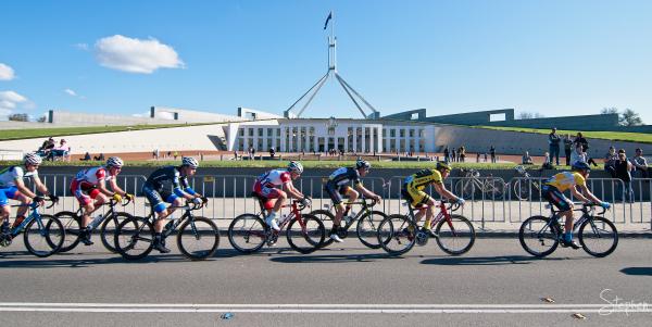Criterium race at National Capital Tour