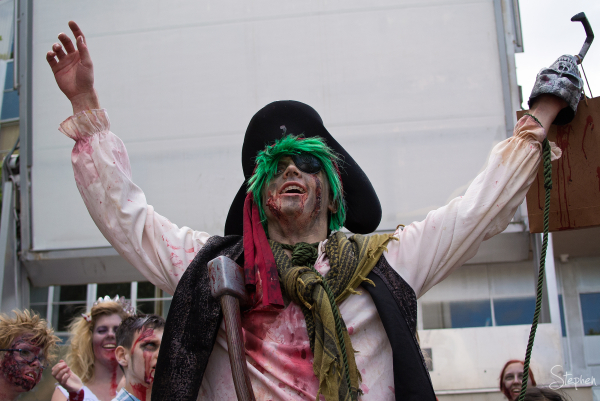Pirate - best male costume on Canberra Zombie Walk