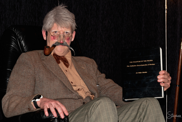 Dr Philo Phobia at National Museum of Australia