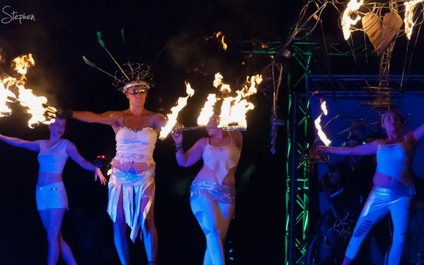 Dream State Circus at Enlighten festival
